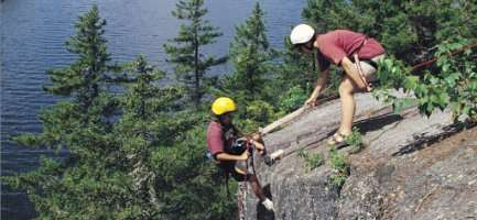 Maine Indoor and Outdoor Rock Climbing Adventures