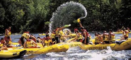 Maine Whitewater Rafting on the Kennebec River