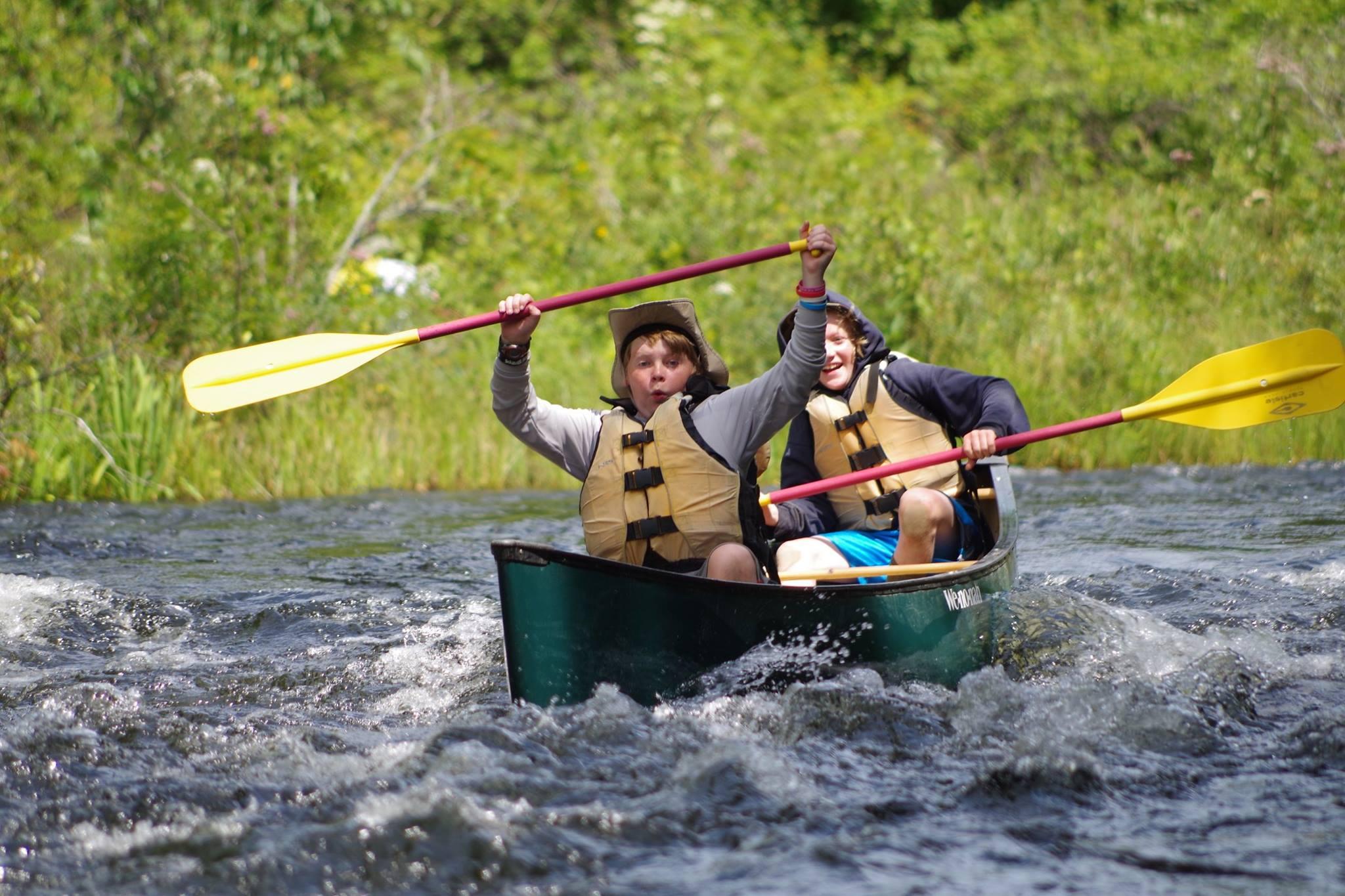 Canoe-Scouts