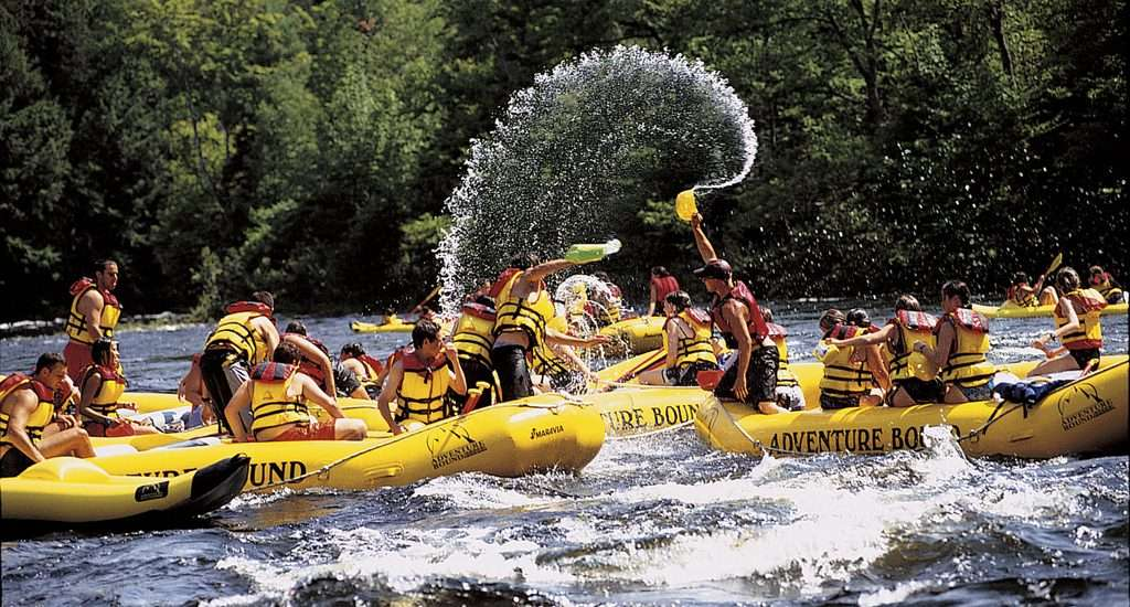 Maine Whitewater Rafting On The Kennebec River Maine