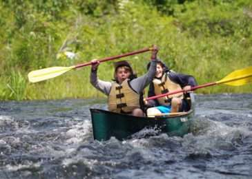 Scouts earn merit badges at Adventure Bound