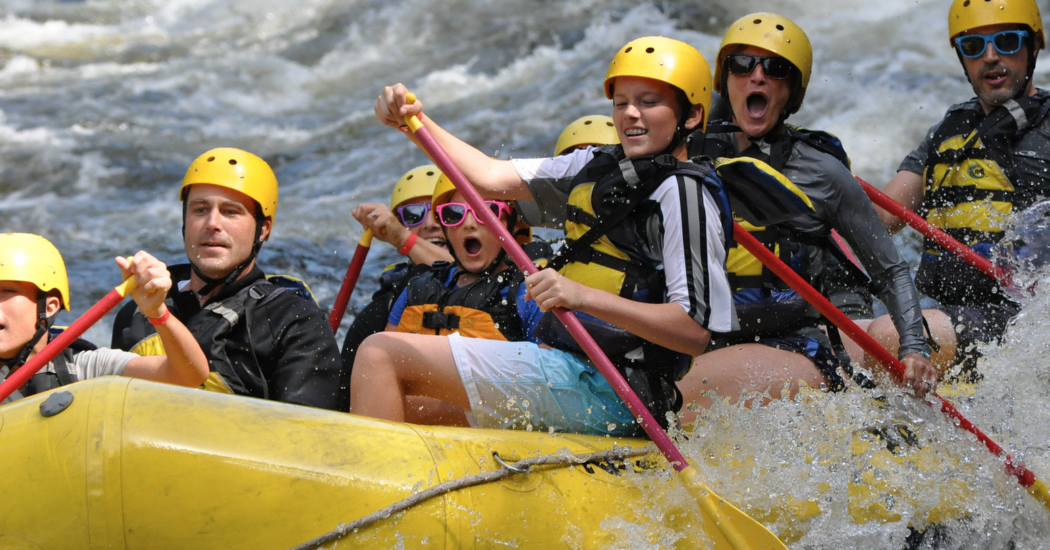 Active families at Adventure Bound