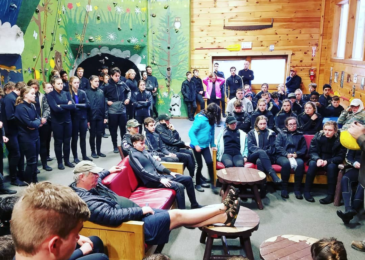Whitewater Rafting Safety Lecture at Adventure Bound