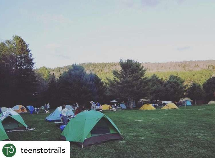 Camping at Adventure Bound