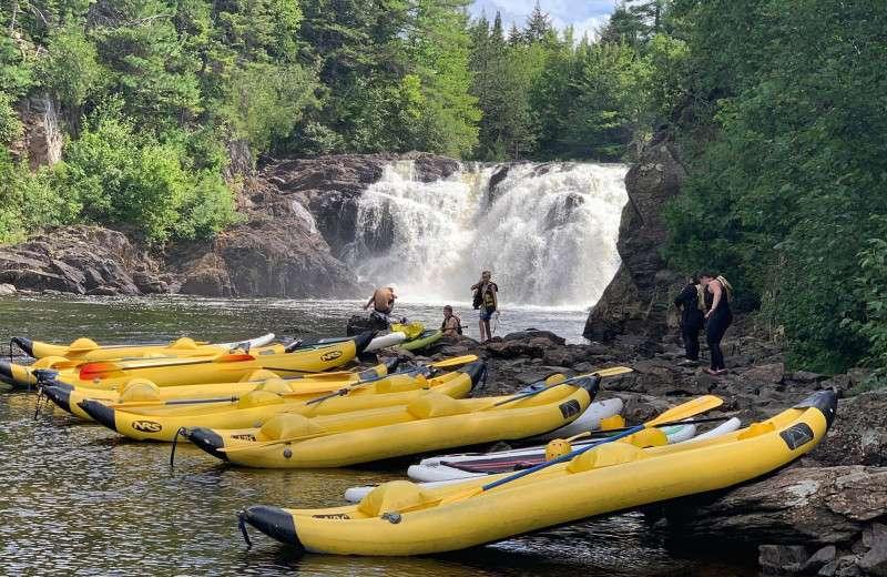 Grand Falls duckie trip